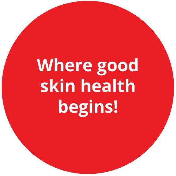 Where good skin helath begins